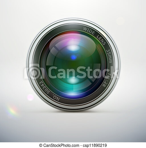 Camera lens  - csp11890219