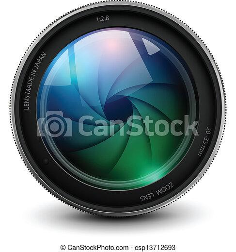 camera lens - csp13712693