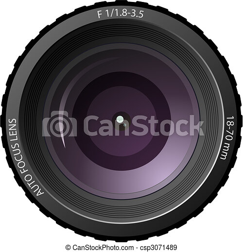 Camera lens - csp3071489