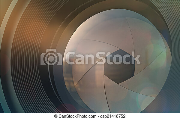 Camera Lens - csp21418752