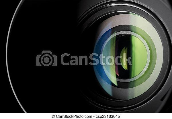 Camera lens - csp23183645
