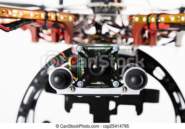 Camera on Drone - csp25414795