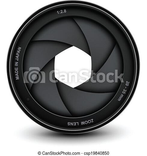 Camera shutter - csp19840850