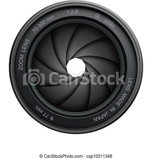 camera shutter - csp10311348