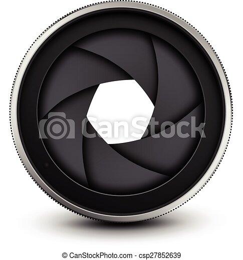 Camera shutter - csp27852639