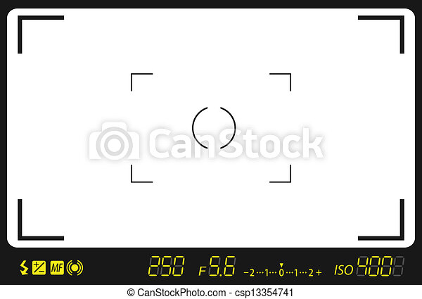 camera viewfinder - csp13354741