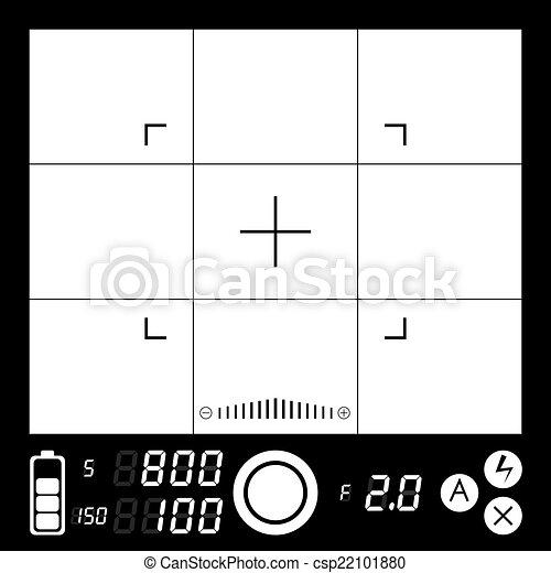 Camera viewfinder - csp22101880