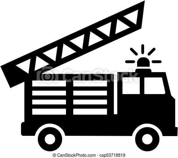 Icono del motor de fuego - csp53718819