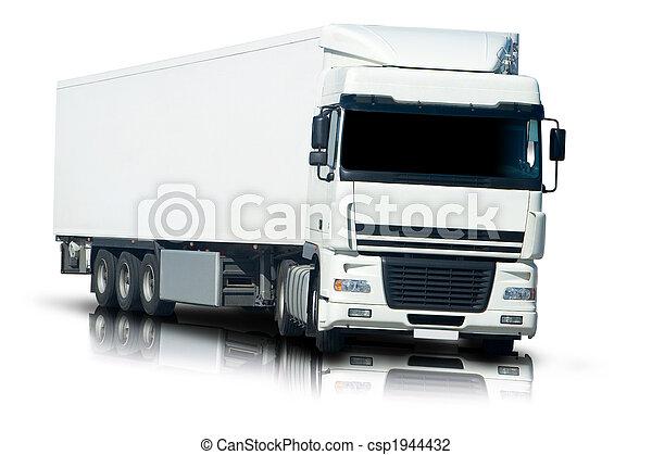 Semi camión - csp1944432