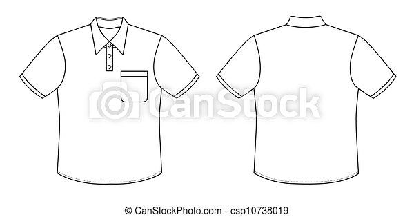 camicia polo - csp10738019