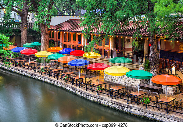 River Walk San Antonio - csp39914278