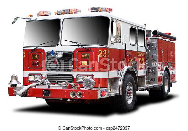 caminhão bombeiros - csp2472337