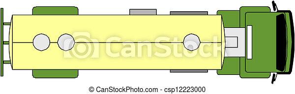 caminhão, recipiente - csp12223000