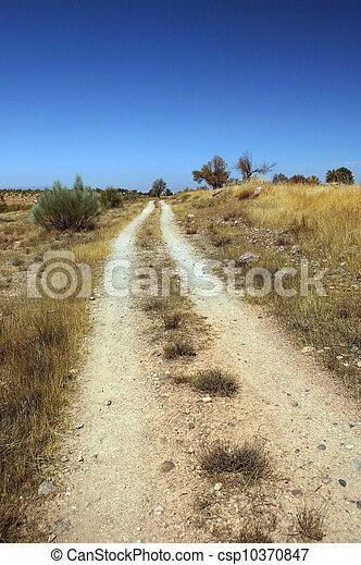 caminho, sujeira - csp10370847
