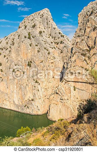 Caminito del Rey in Malaga - csp31920801