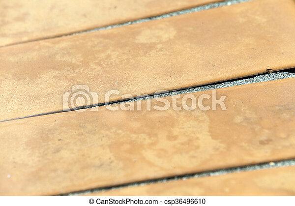 Tiles en la carretera - csp36496610