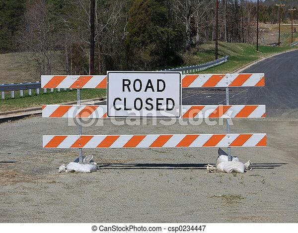 Camino cerrado - csp0234447