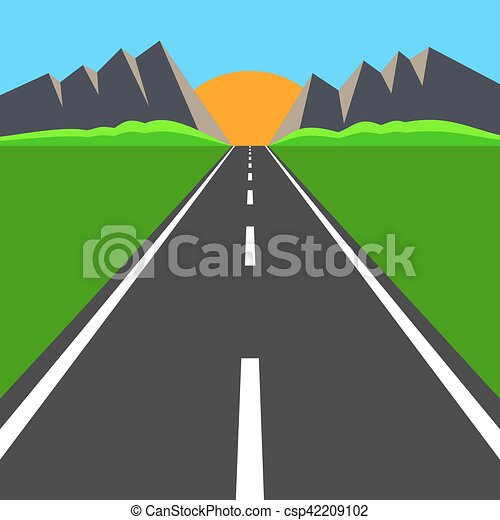 Camino al horizonte - csp42209102