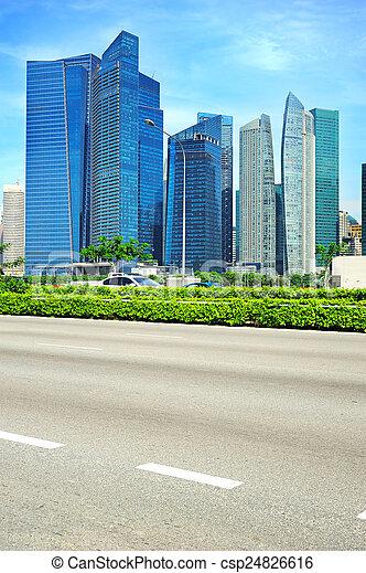 Camino de Singapur - csp24826616