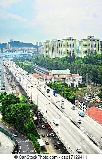 Caminos de Singapur - csp17129411