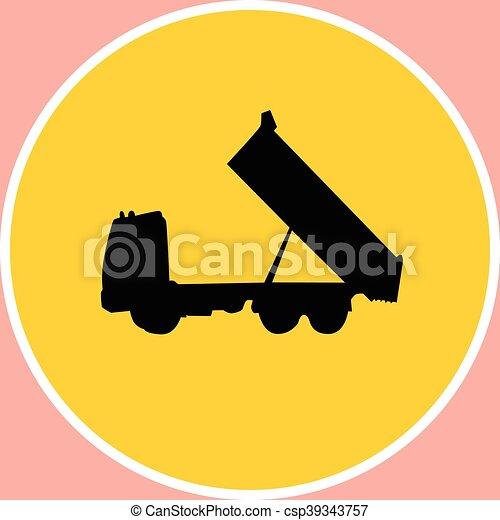 camion - csp39343757
