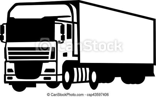 camion - csp43597406