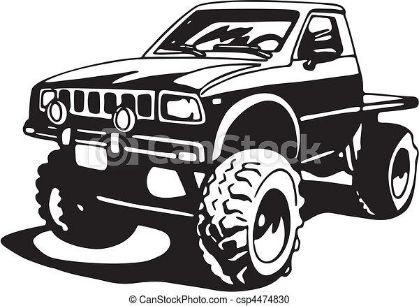 camion - csp4474830