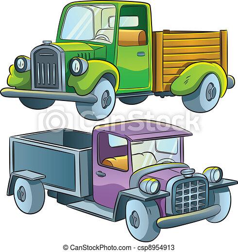camion, collezione - csp8954913