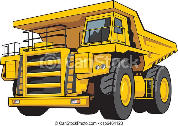 camion, décharge - csp6464123