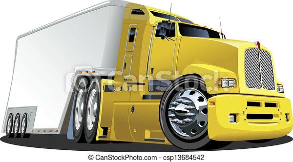 Camion Dessin Animé