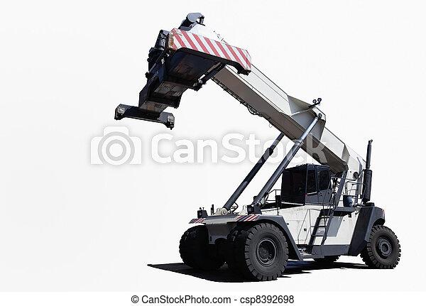 camion, grue - csp8392698