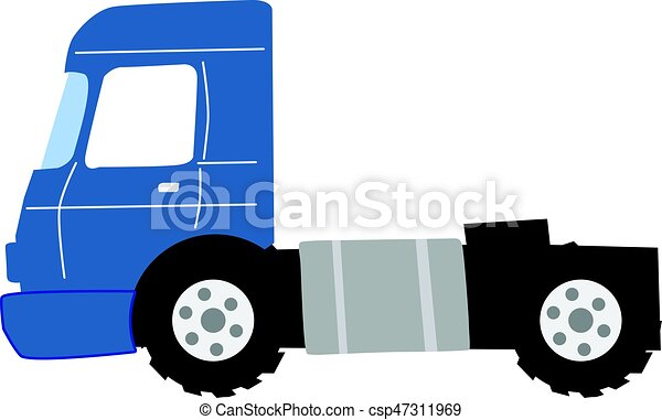 camion, route - csp47311969