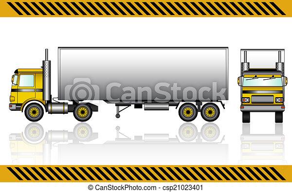 camion, semi - csp21023401