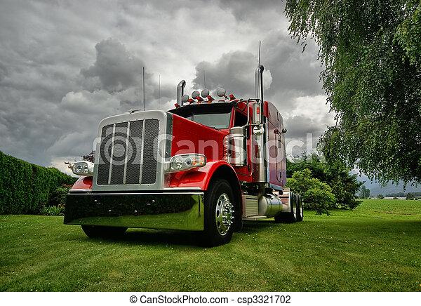 camion, semi, trattore - csp3321702