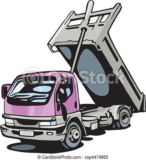 camion - csp4474883