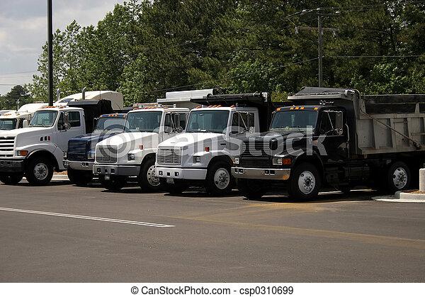 camions décharge - csp0310699