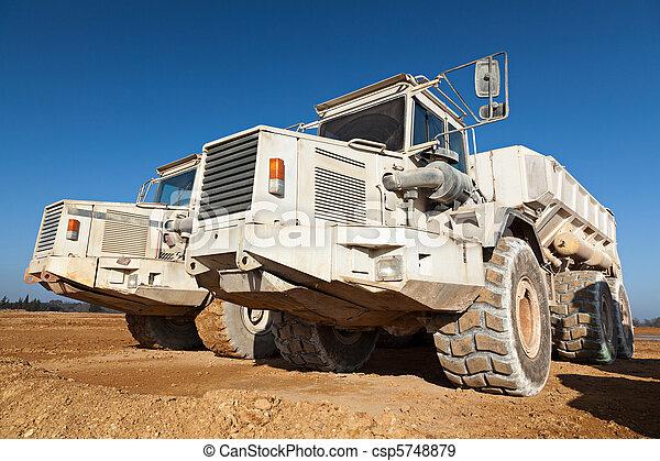 camions décharge - csp5748879