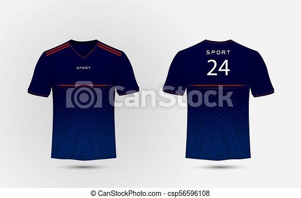 nuevo baratas discapacidades estructurales artesanía exquisita Camiseta, jersey, disposición, azul, líneas, kits del ...