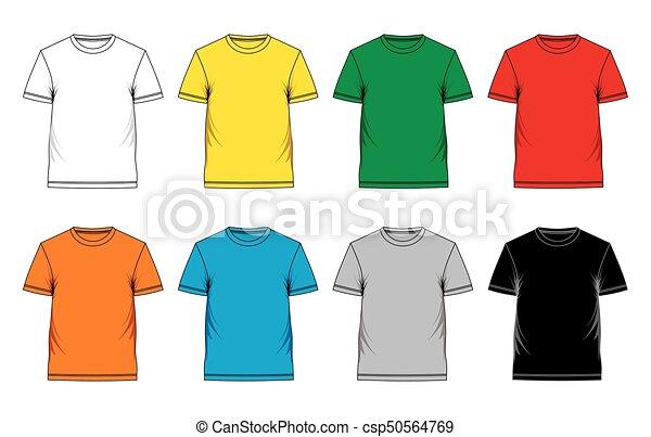 La camiseta de los hombres - csp50564769