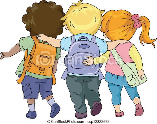 Camminare bambini insieme insieme camminare bambini for Camminare in piani di progettazione dispensa