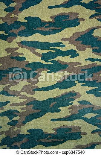 camouflage background - csp6347540