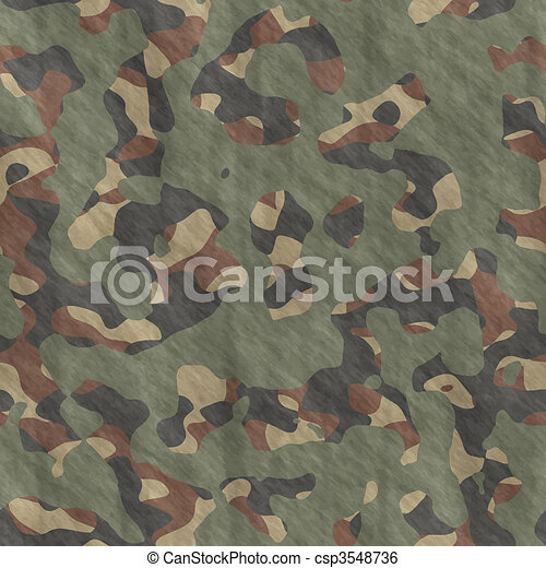 camouflage material background texture - csp3548736