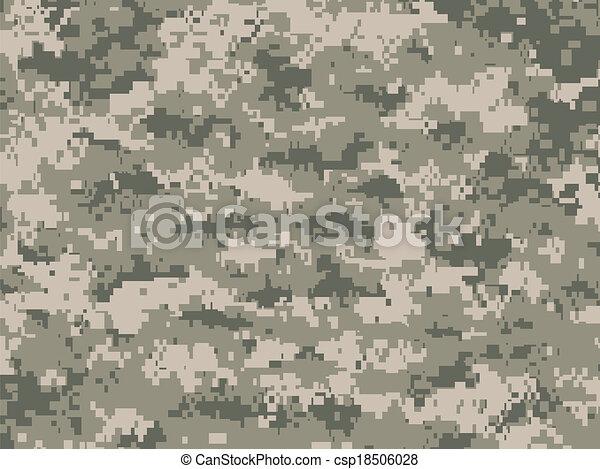 Camouflage pixels - csp18506028