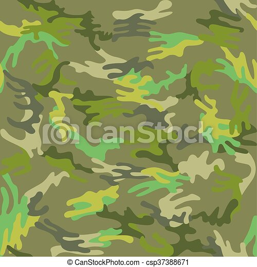 Camouflage seamless green tropic - csp37388671