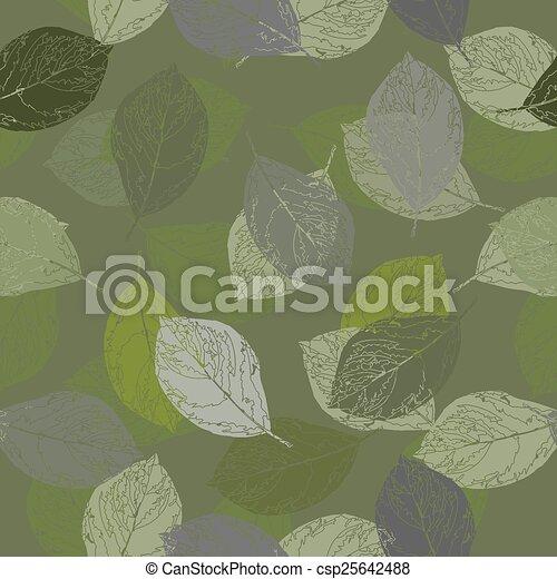 Camouflage seamless pattern. Illust - csp25642488