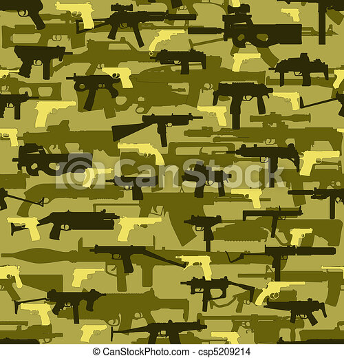 camouflage  wapons simlese - csp5209214