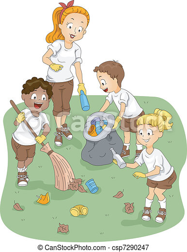Camp Cleaning - csp7290247