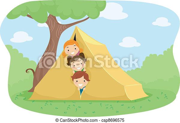 Camp Tent - csp8696575