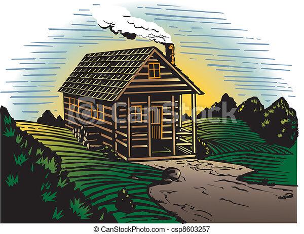 Campagna cabina paese occupato piccolo cabina for Disegni di cabina di campagna