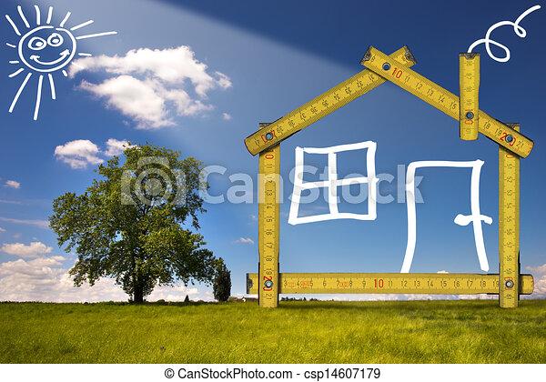 campagne maison ecologic bois former outillage jaune illustrations de stock. Black Bedroom Furniture Sets. Home Design Ideas